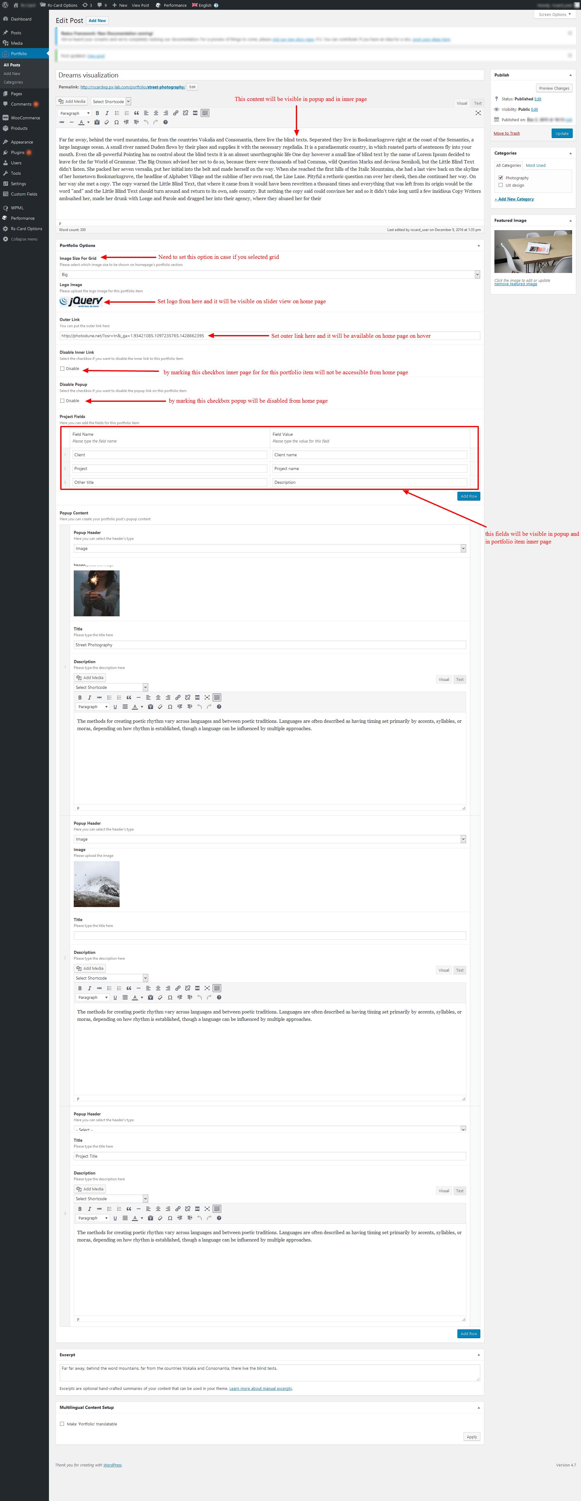 portfolio-item-settings
