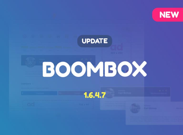 Boombox-update