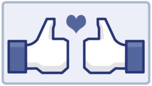 Facebook post algorithm. Liking