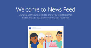 Facebook pots in the news feed