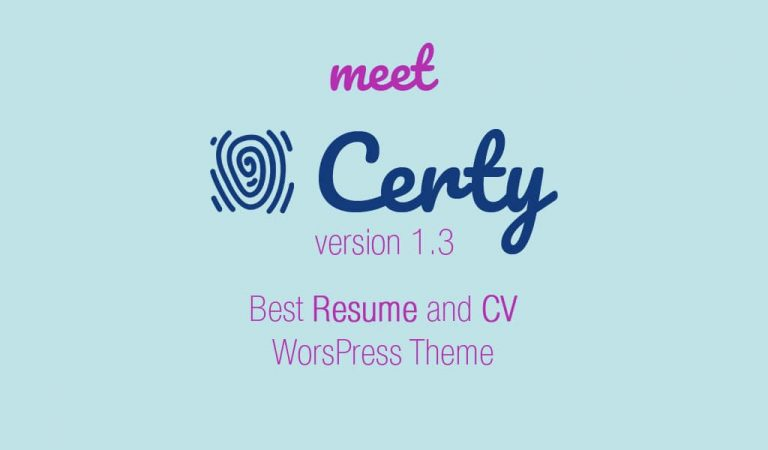 Meet new version of Certy with 4 new stunning demos