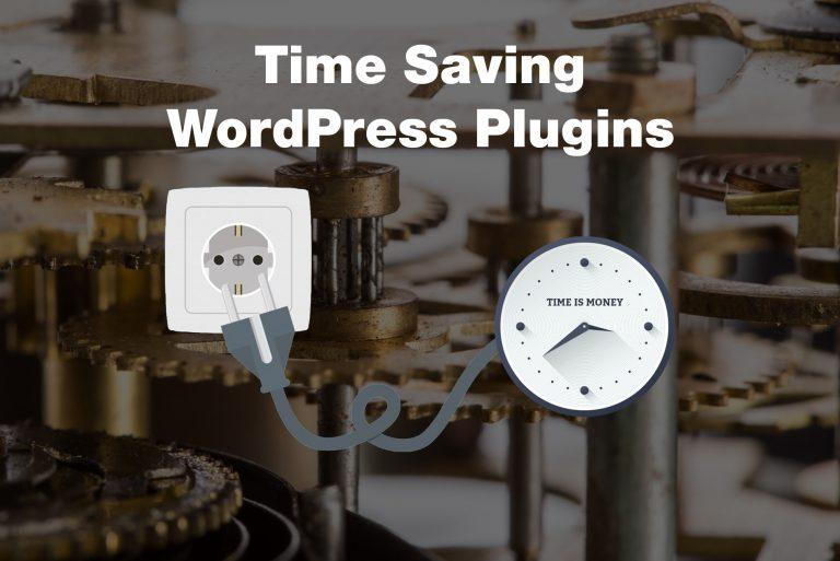 time-saving-plugins for WordPress