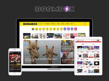 Boombox viral theme