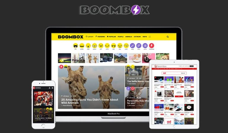 Boombox Viral Magazine WordPress Theme Review